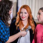 артисты дают интервью