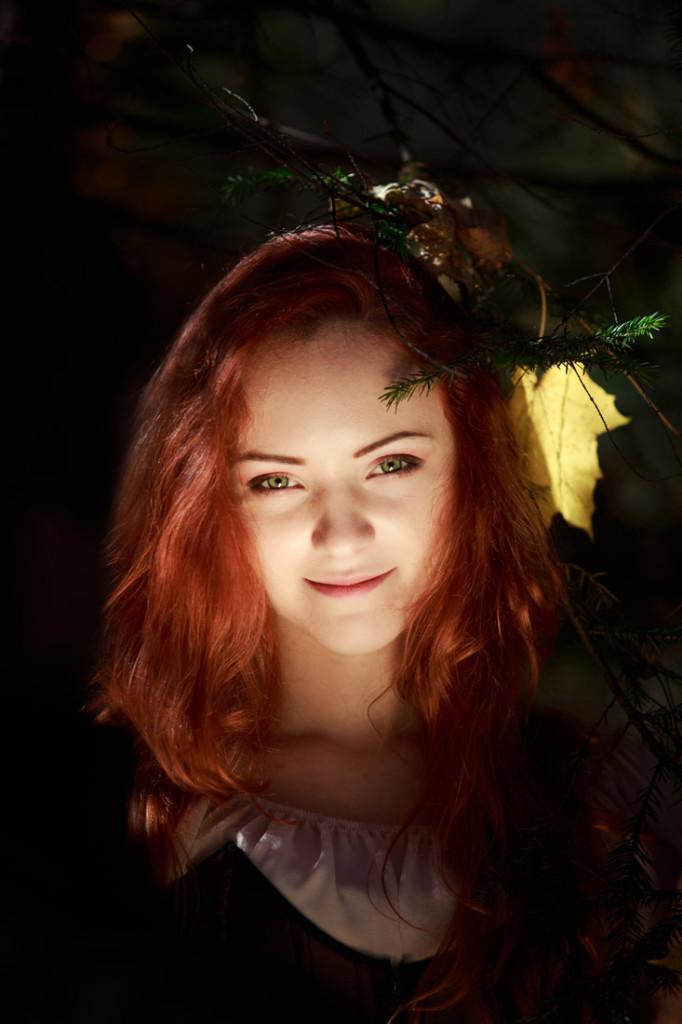 портрет, осень, осенний портрет, девушка, краски осени