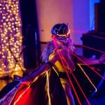лазерное шоу на новогоднем корпоративе