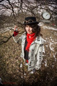 часы, фотосессия, весна, девушка, ходики