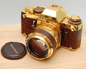 пентакс, золото, фотоаппарат