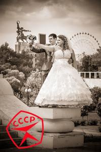 рабочий, колхозница. мухина, свадьба