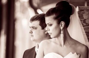 невеста, жених, портрет