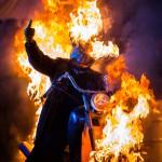 каскадер мотоцикл, байк, горящий, огонь, репортаж, шоу кскадеров, вселенский фестиваль огня, мастер