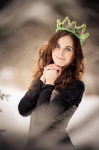 зимний портрет фотограф петров игорь москва