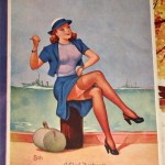 AMERICAN BEAUTIES pinup poster mona_001