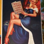 AMERICAN BEAUTIES pinup poster mona_006