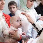 Крещение  Александры в Гиреево Москва
