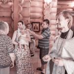 Крещение Демида в Балашихе