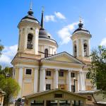 церковь, спаса, преображения, балашиха, лето, усадьба пехра-яковслевское