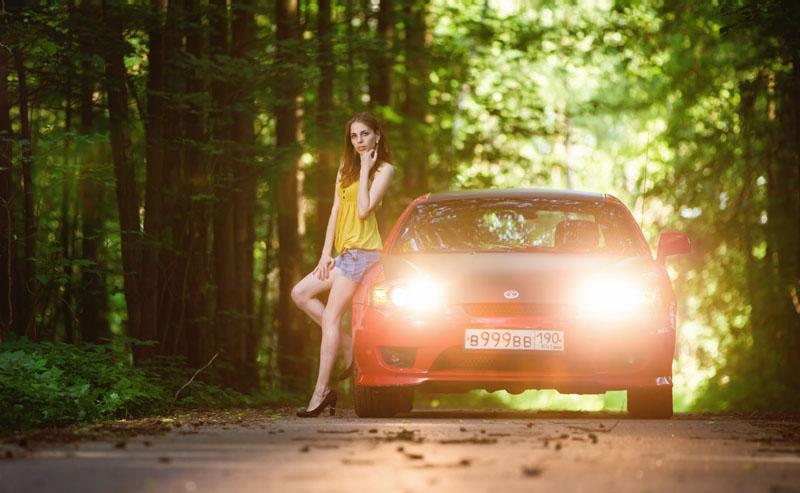 фотосессия, авто, спорт-купе, tiburon, тибурон, девушка, фотосессия Балашиха.