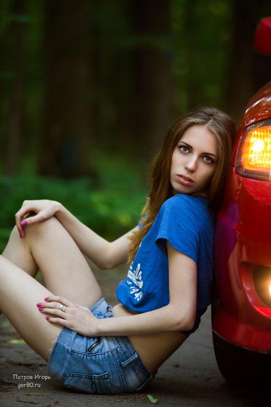 девушка, фотосет, Балашиха,  споривный авто