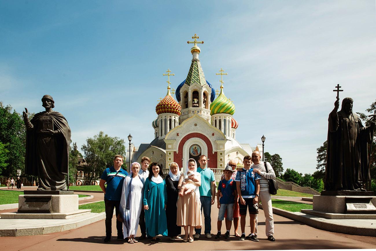 Фотограф на крещение в Переделкино - Петров Игорь +7-929-567-89-47