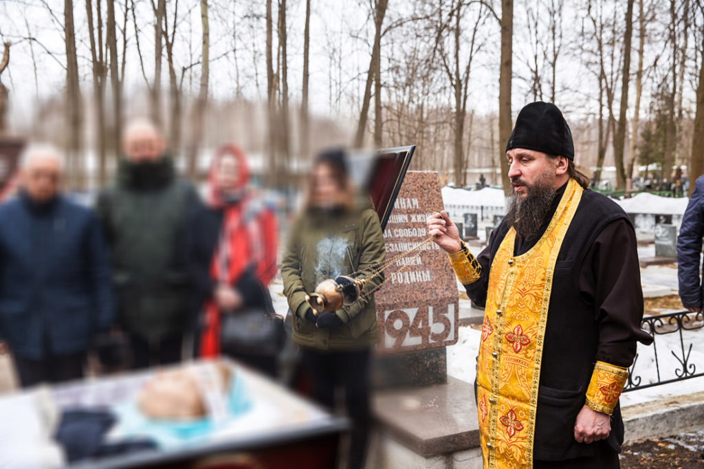 фотограф на похороны в Москве