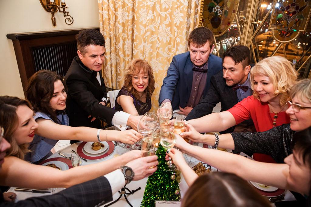 Фотосъемка новогоднего корпоратива - Промедтек