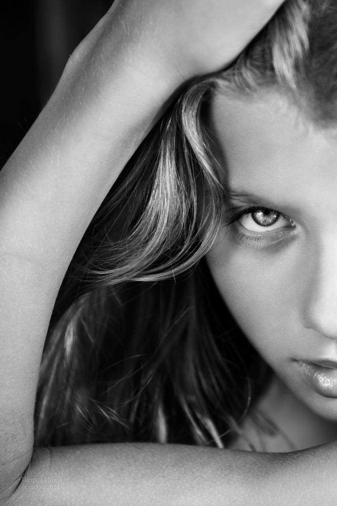 портрет, девушка, Кристина