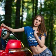 Фотосессия с авто, фотосъемка с автомобилем в Москве