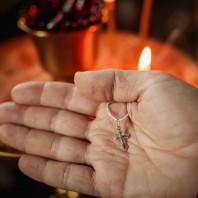 Крещение Лилии — Церковь Косьмы и Дамиана