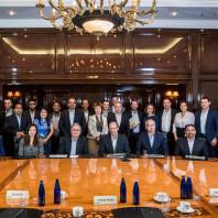 Деловая встреча компании «Olam» с Ткачевым — репортаж
